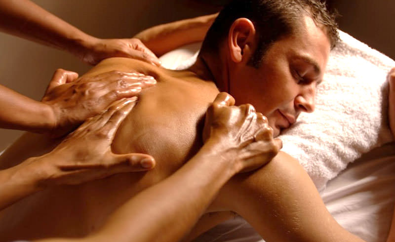 Four Hands Massage at Bangkok Bunny Massage Happy Ending massage and / or full service massage can always be included